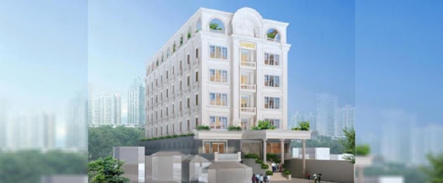 Quang cảnh khách sạn Avenue Sầm Sơn ở bên ngoài khá lớn, sang trọng