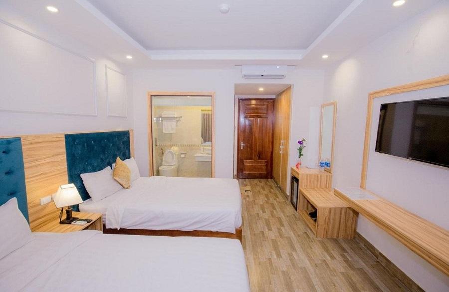 Sang trọng, hiện đại là những điểm cộng của khách sạn Avenue Sầm Sơn