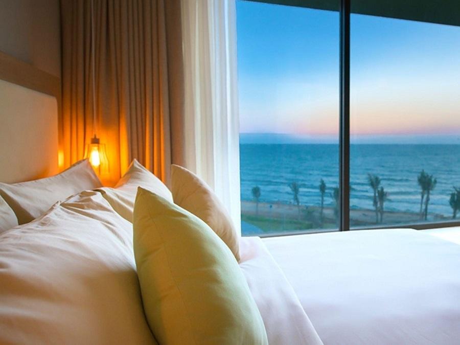 View nhìn ra biển từ FLC Luxury Sầm Sơn Resort