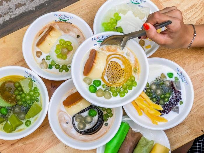 Chè dừa Thái Lan - quán chè chuẩn vị Thái