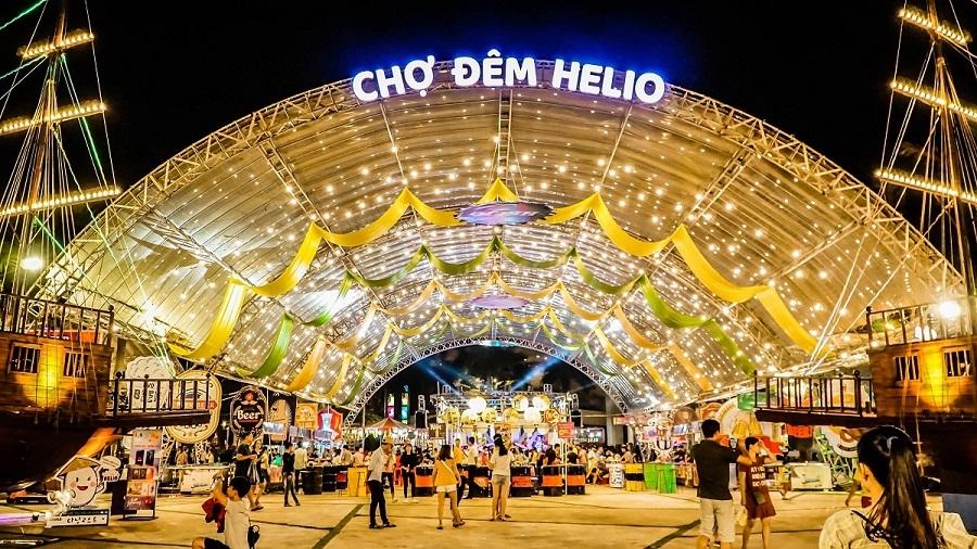 Chợ đêm Helio - khu chợ nổi tiếng ở Đà Nẵng
