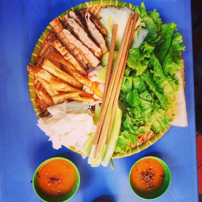Nem nướng Nha Trang ở Hà Nội