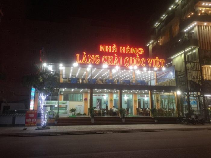 Nhà hàng Quốc Việt -Sầm Sơn về đêm