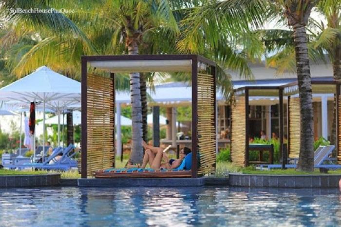 Tận hưởng giây phút thư giãn tại Sol Beach Houuse Phú Quốc