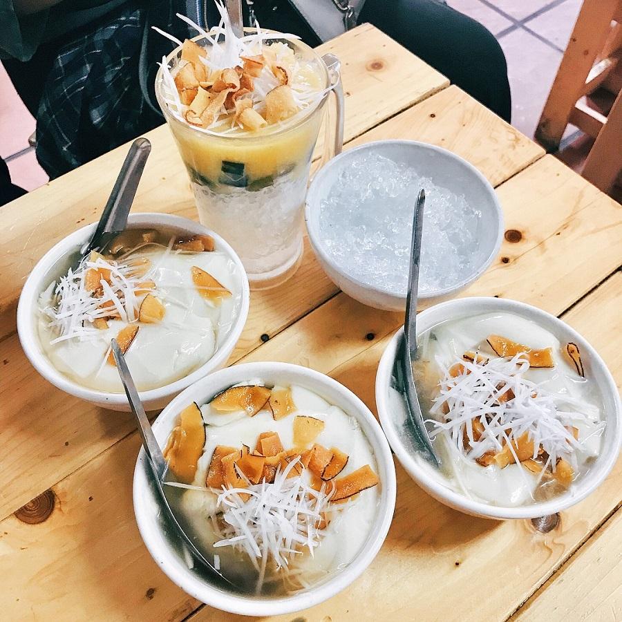 Tào phớ Nghĩa Tân - món ăn vặt nổi tiếng ở Hà Nội