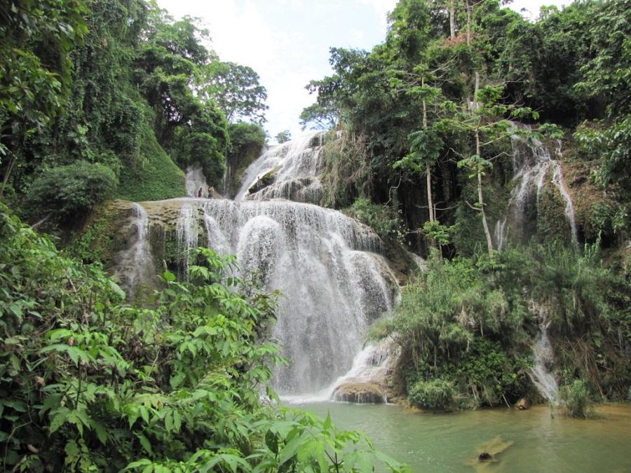 Thác Tiên Tắn là địa danh nổi tiếng bên trong Cửu Thác Tú Sơn