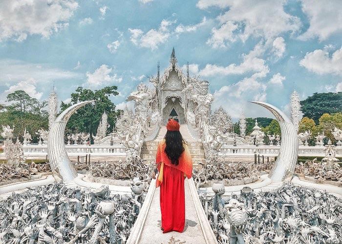 Cần lựa chọn trang phục thanh lịch, nhã nhặn khi bước vào Cung điện, đình, chùa tại Thái Lan