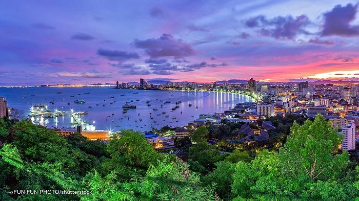 Thành phố du lịch không ngủ Pattaya