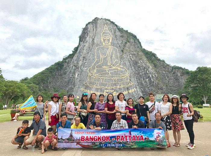 Du lịch theo tour đến Thái Lan thuận tiện, an toàn