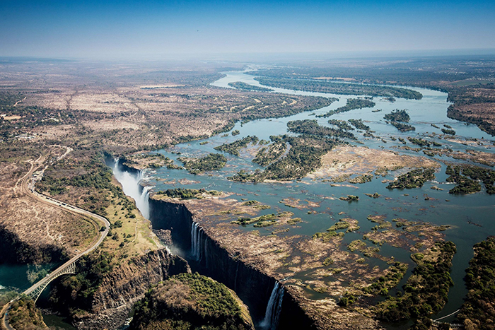 Khung cảnh thiên nhiên tuyệt vời tại Zambia